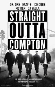 Straight Outa Compton Movie advertisement Source: imdb.com