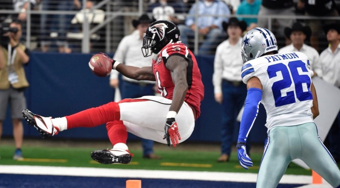 Week 3 brings victory for Falcons
