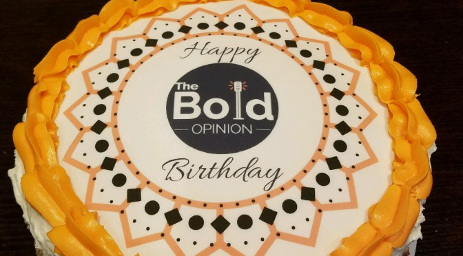 The Bold Opinion 1 Year Anniversary Show 10.20.16