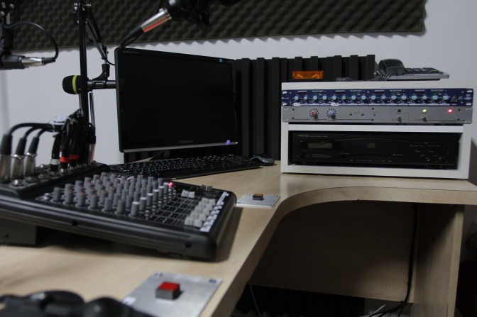 A new Broadcast Studio is coming!