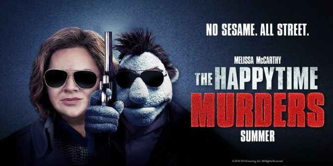 Movie Review: Happytime Murders 3/5 Stars